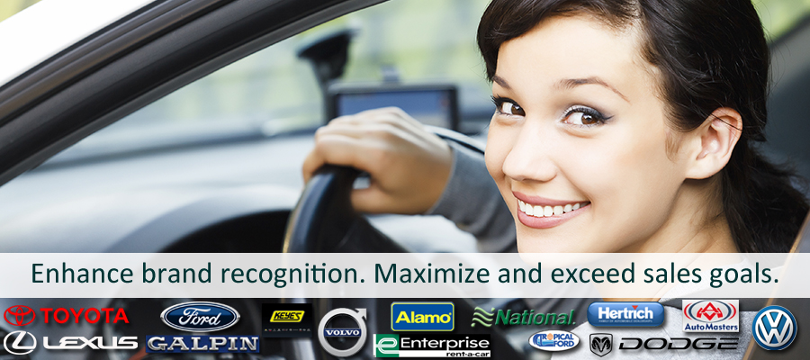 Car rental services for mystery shopping company
